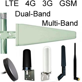 LTE Antennas, GSM Antennas, 4G Antennas