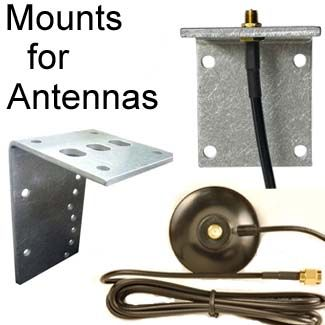 Mounting bracket for RP-SMA Antenna